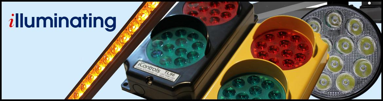 iControls LED Guide Lights. iControls LED Stop and Go lights. LED Dock Lights,